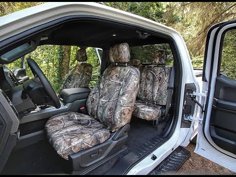 ShearComfort Realtree Camo Seat Covers Installed