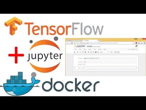 Using Tensorflow with Docker (Demo) | Tensorflow + Jupyter + Docker