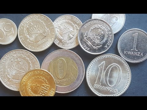 Angolan coin history since independance