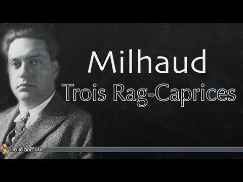 Milhaud: Trois Rag-Caprices ( Piano: Giovanni Umberto Battel - live recording )