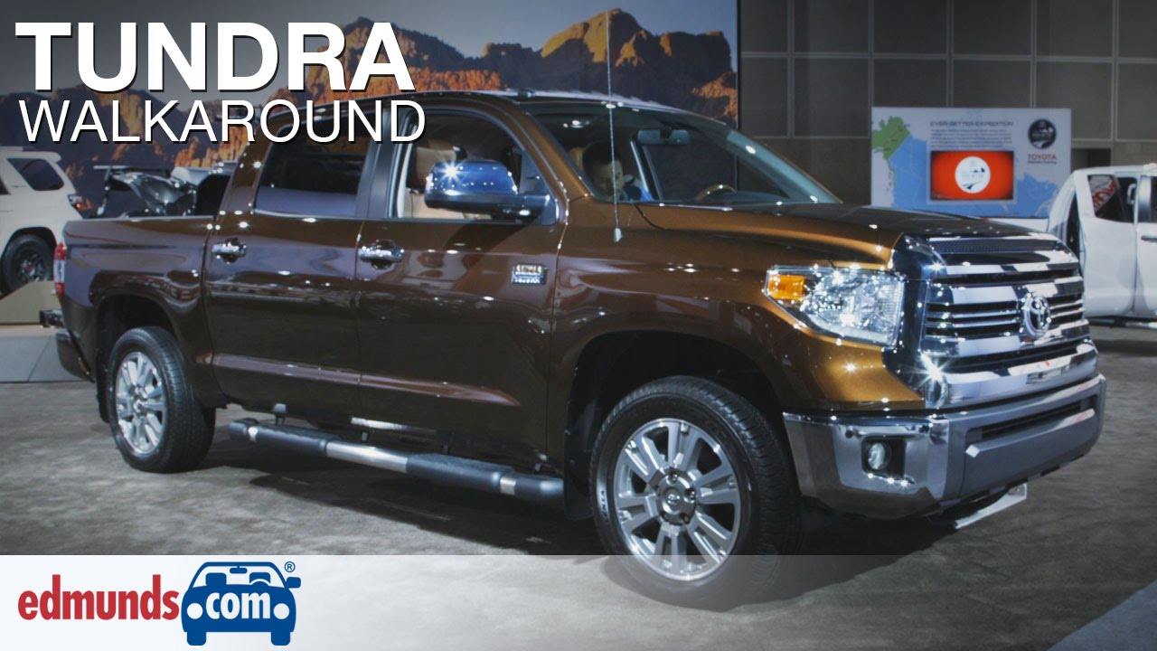 new video 2016 toyota tundra walkaround review the. Black Bedroom Furniture Sets. Home Design Ideas