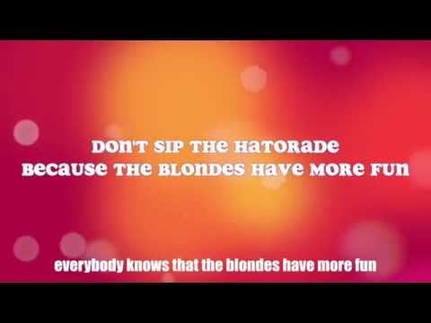 Blondes Have More Fun (feat. Kaci Brown) - Photronique [Official Lyric Video]