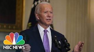 Watch Biden's First Full Press Conference | NBC News