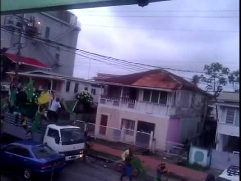 APNU AFC Election celbration all over Guyana