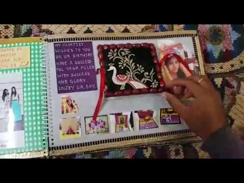 Handmade Photo Album Birthday Card Youtube
