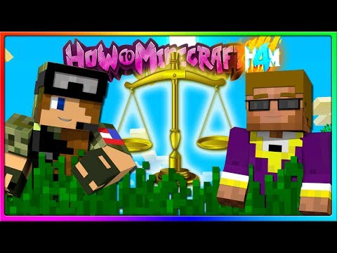 Minecraft - JUSTICE WILL BE SERVED | Episode 52 of H4M (How to Minecraft Season 4)
