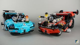 Lego 42050 Drag Racer upgraded - real wheelies!