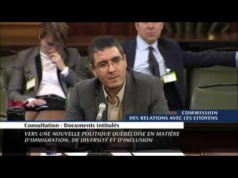 Video de l'Assmeblée nationale du Québec