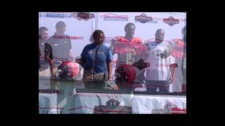 Terry Beckner: American Family Insurance Selection Tour Jersey Presentation