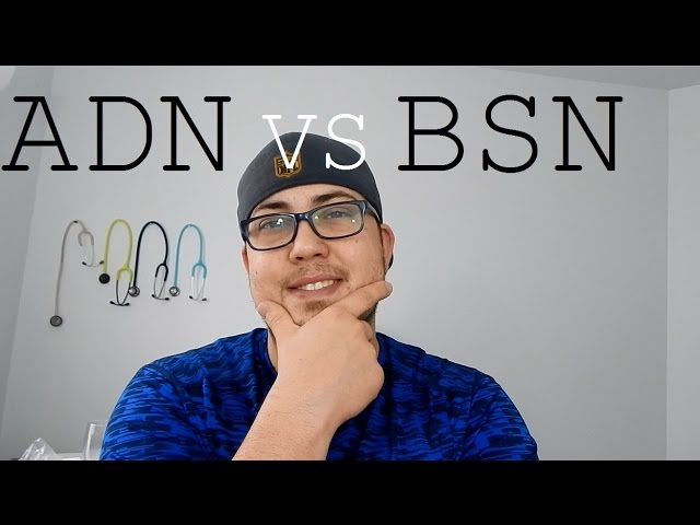 adn vs bsn This video talks about the differences between the adn and bsn degrees in nursing which nursing degree should you get in order to become a registered nurse.
