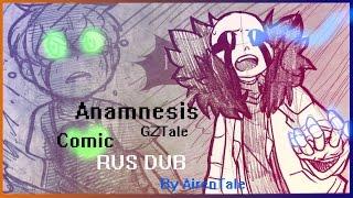 GZTale comic RUS DUB| Ananmnesis (4/5 part) ФИНАЛ + ПРОЛОГ