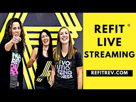 REFIT® LIVE STREAMING:  Revolutionary Workouts Delivered to YOU.