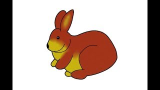 How to draw rabbit step by step | easy way drawing rabbit