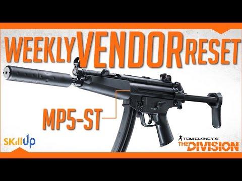 The Division | Weekly Vendor Reset (24th Dec) Feat. MP5-ST, Alpha Bridge Chest, 3 x D3-FNC Pieces!