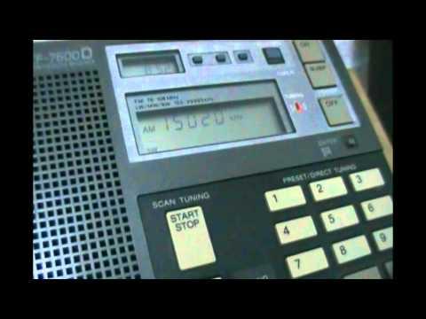 All India Radio (Aligarh, Uttar Pradesh) in english - 15020 kHz