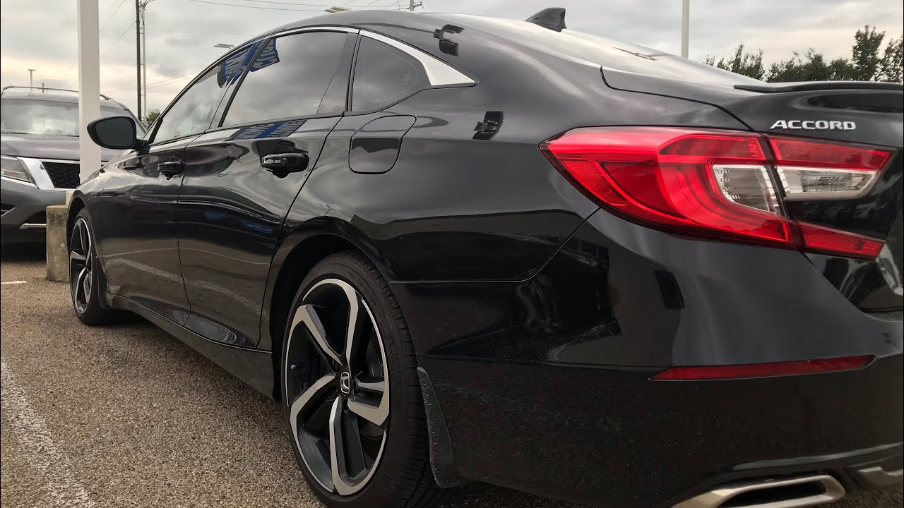 """2018 HONDA ACCORD SPORT """"2.0 T""""/ THIS CAR IS THE TRUTH!"""