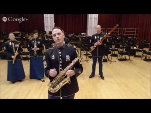 Hangout Session--United States Army Field Band: Alto Saxophone