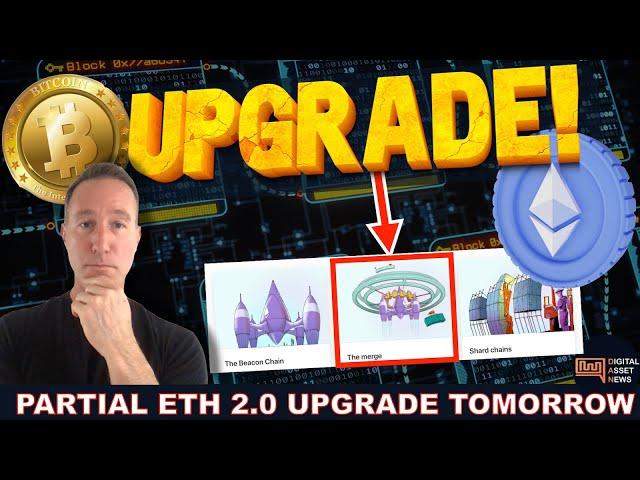 ETHEREUM 2.0 UPGRADE COMING TOMORROW. BIG MOVES AHEAD.