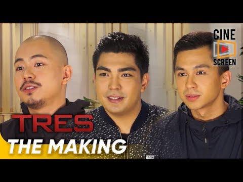 The Making | 'Tres' | Jolo, Bryan, & Luigi Revilla