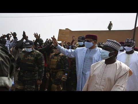 Niger's president pledges to tackle the ever-growing terror insecurity