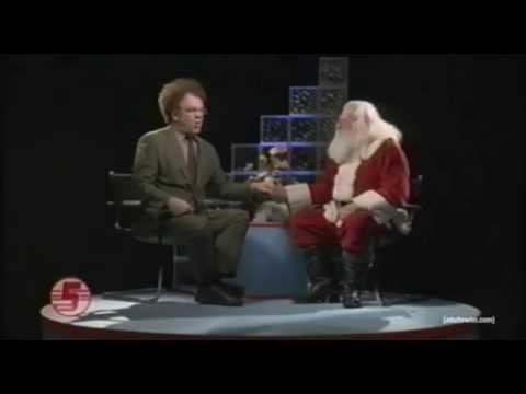 Check it Out! with Dr. Steve Brule - Interview with Santa