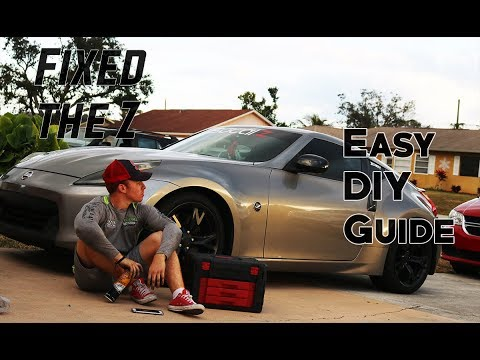 Fixing My Nissan 370z Oil Leak | 370z/350z How To Replace The Valve Cover  Gasket