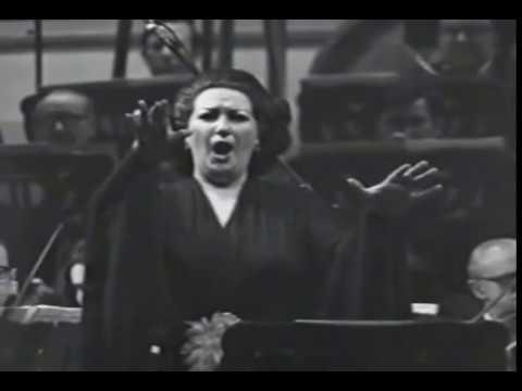 Montserrat Caballé / Puccini Performance / Barcelona Symphony Orchestra 1975