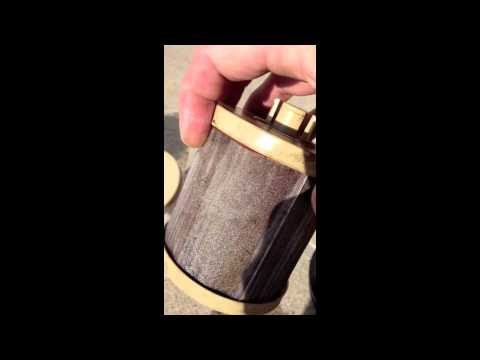 2008 Ford F250 diesel fuel filter change 1 of 2 - YouTube