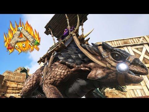 """DE CAZA CON MI SUPER THORNY DRAGON! - INFERNALIA #38 - ARK: """"Scorched Earth"""""""