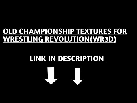OLD CHAMPIONSHIP TEXTURES (WWF) FOR WR3D