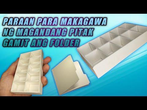 Download DIY LALAGYAN NG GAGAMBA #16   MAGANDANG PARAAN  SA PAG-GAWA NG PITAK GAMIT ANG FOLDER