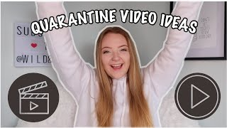 35+ YOUTUBE VIDEO IDEAS WHILE IN QUARANTINE