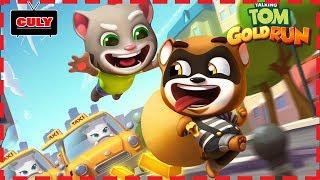 chơi Talking Tom Run bắt bạn chồn hôi ăn cắp vàng chạy lụm cu lỳ chơi game mèo Tom lồng tiếng vui nh