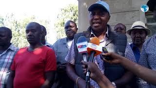 Residents of Kagoto area in Bahati, Nakuru county, storm a local mining company
