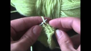 ★★★ Уроки вязания спицами | Жемчужная вязка со снятыми петлями . ★★★