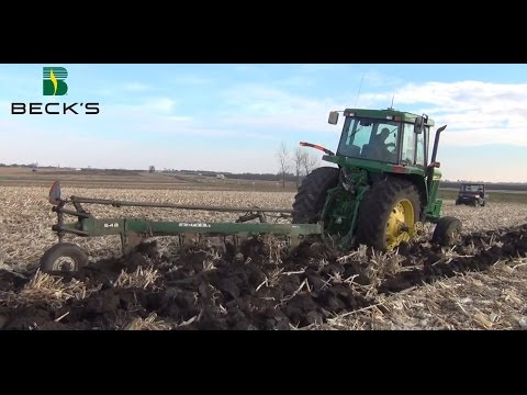 Precision Ag Equipment - Moldboard Plow Study - Beck's Hybrids Practical Farm Research (PRF®)