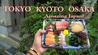 TOKYO / KYOTO / OSAKA - Amazing JAPAN! 東京 / 京都市 / 大阪市 ・アメージング日本! 2016