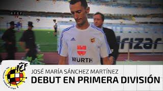 Vivimos con el colegiado José María Sánchez Martínez su debut en Primera División