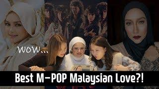 Korean girls react to Malaysian Legendary song TOP 3 (feat. Nisha Ezzati) l Blimey