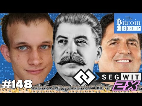 The Bitcoin Group #148 - Who Controls Bitcoin? - Vitalik is Not Dead - Mark Cuban Hypocrite?