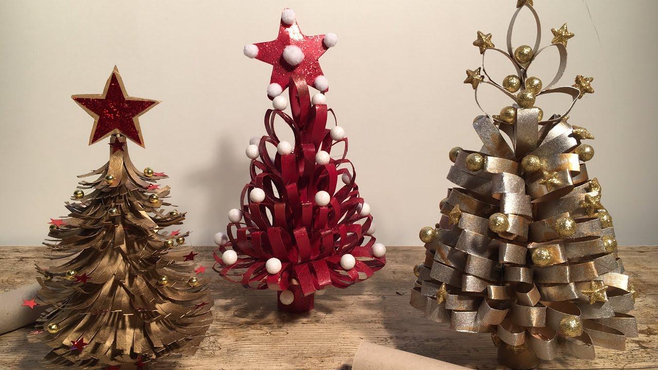 Lavoretti Di Natale Con La Carta Igienica.How To Make A Christmas Tree Toilet Paper Rolls Youtube