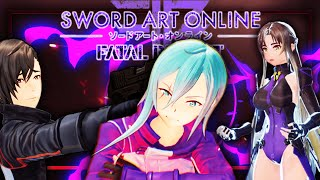 Sword Art Online: Fatal Bullet | Full Game Walkthrough