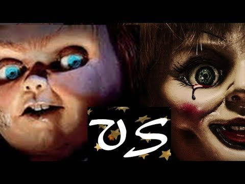 Chucky VS Anabelle...Who Is Scarier? A Killer Doll VS Killer Doll Scary Battle! thumbnail