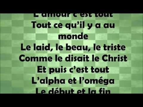 François Misse Ngoh - L'Alpha et L'Oméga [Paroles - Lyrics]