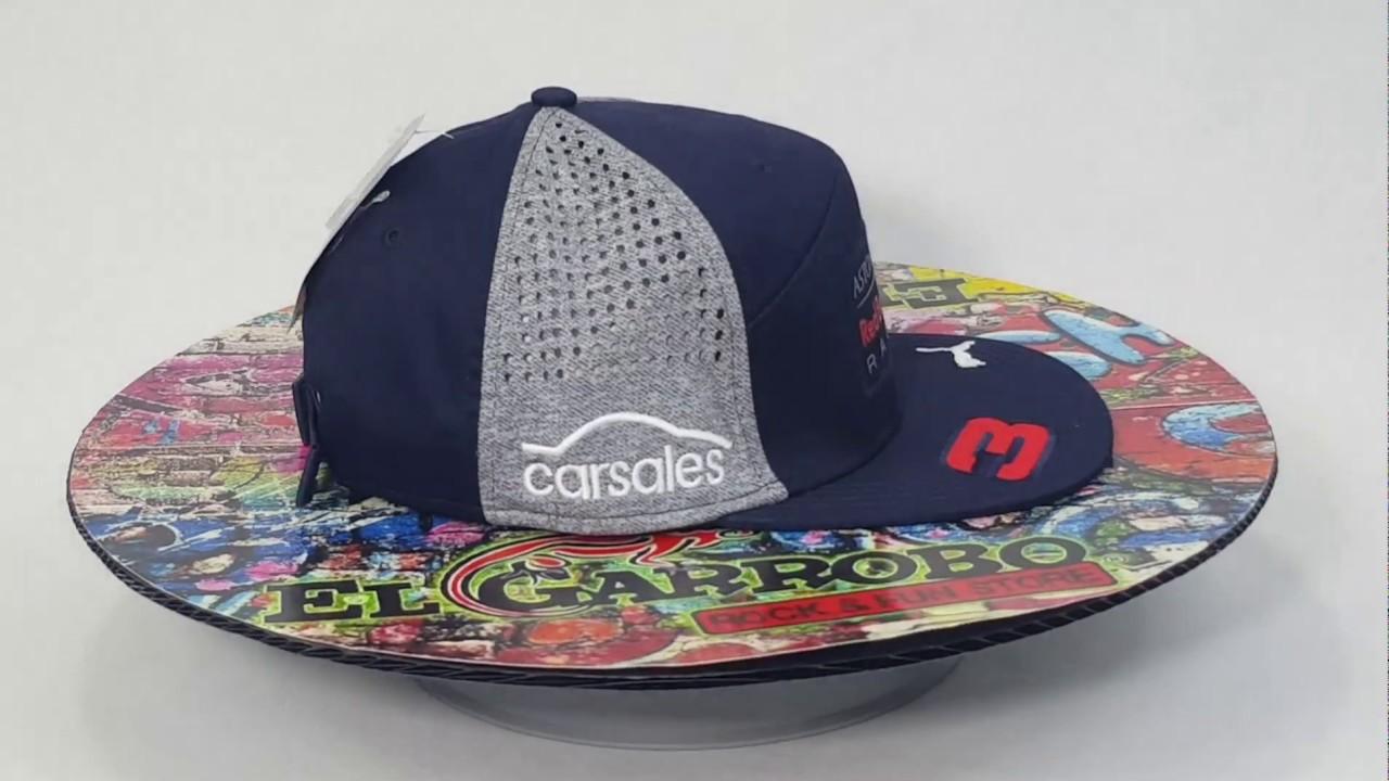10f17eec7eb6e Red Bull Puma gorra Daniel Ricciardo - YouTube