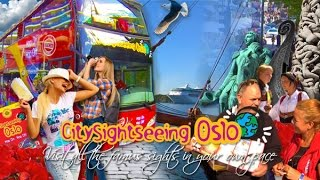 Oslo City – Norway – Open Top Sightseeing Tour 2015