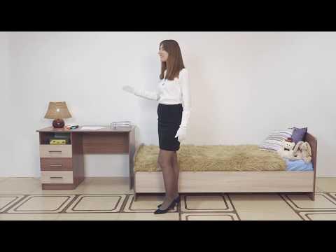 ВидеоОбзор EuroMebel: Детская, модульная мебель коллекции Город, (Россия)