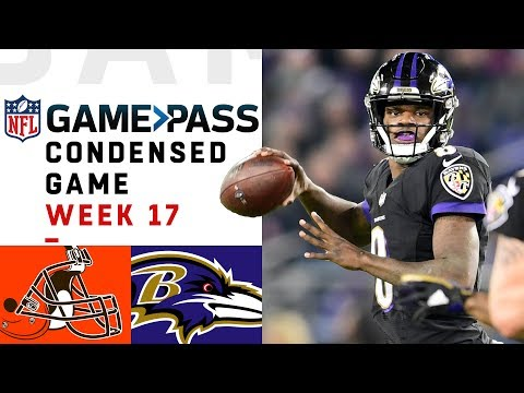 Browns vs. Ravens | Week 17  NFL Game Pass Condensed Game of the Week