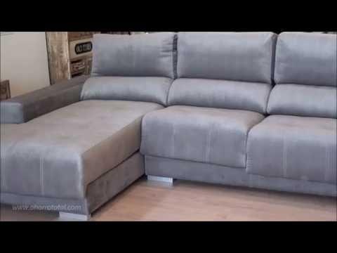 Sofá con chaiselongue alta gama 8337