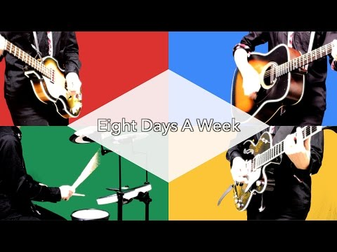 Eight Days A Week - The Beatles karaoke cover